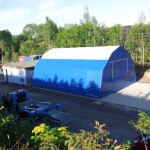 Plane aus PVC-Planenmaterial 670 g/m²