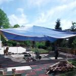Sonnenschutz für Spielplätze