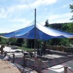Sonnenschutz für Spielplatz